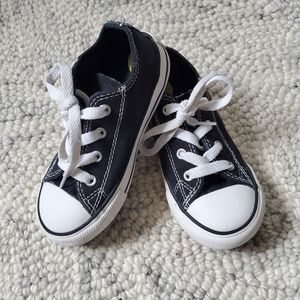 Converse Black Infant Size 9